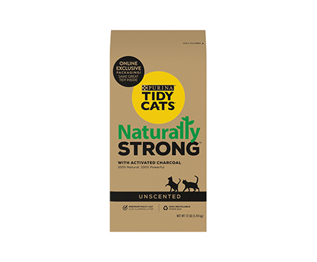 Tidy Cats Naturally Strong Unscented Cat Litter