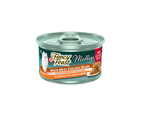 Fancy Feast® Medleys White Meat Chicken with Garden Veggies Wet Cat Food