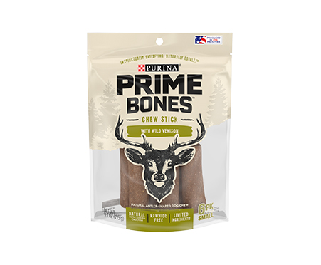 Prime Bones Limited Ingredient Small Dog Treats With Wild Venison