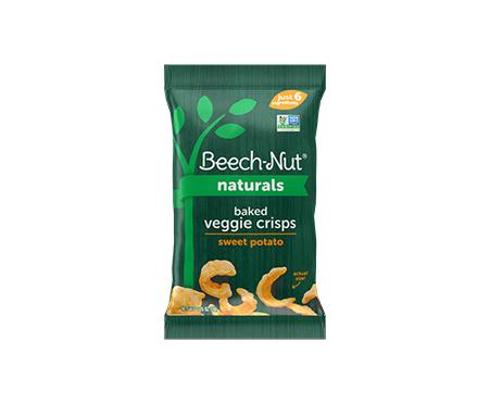Beech-Nut® Naturals Baked Veggie Crisps: Sweet Potato