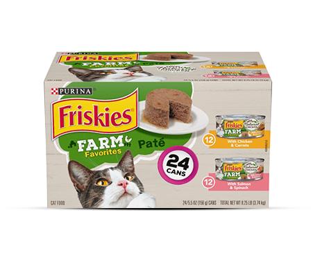 Purina® Friskies® Farm Favorites Pate Variety Bundle