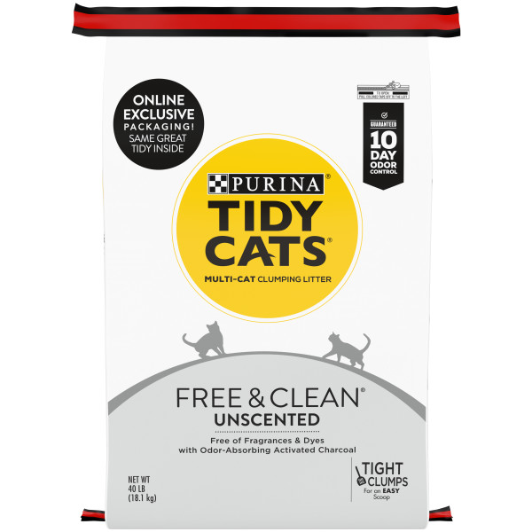 Purina® Tidy Cats® Free & Clean Unscented Clumping Multi Cat Litter