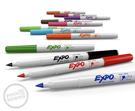 Expo Low Odor Ultra Fine Dry Erase Marker Free Samples