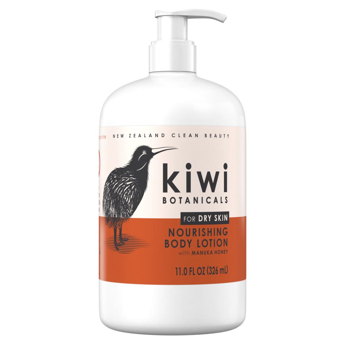 KIWI Botanicals Nourishing Body Lotion with Manuka Honey