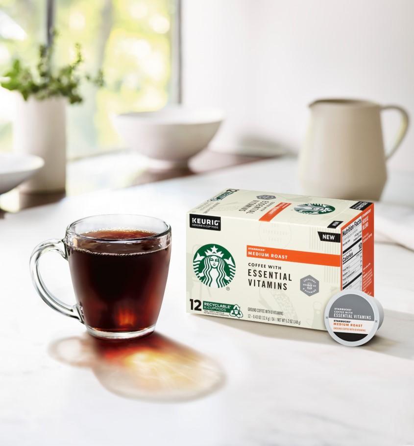 Starbucks® Coffee with Essential Vitamins