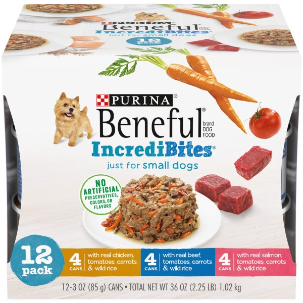 Purina® Beneful IncrediBites 12-Count Small Wet Dog Variety Pack