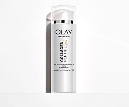 Olay Regenerist Collagen Peptide 24 SPF Moisturizer, SPF 30