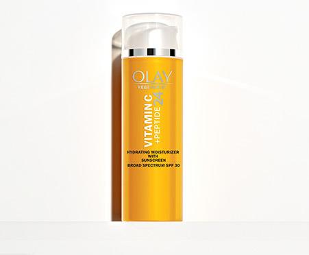 Olay Regenerist Vitamin C + Peptide 24 Moisturizer, SPF 30