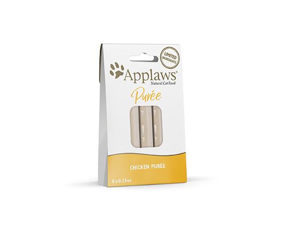 Applaws Treat Chicken Puree 8x0.25oz