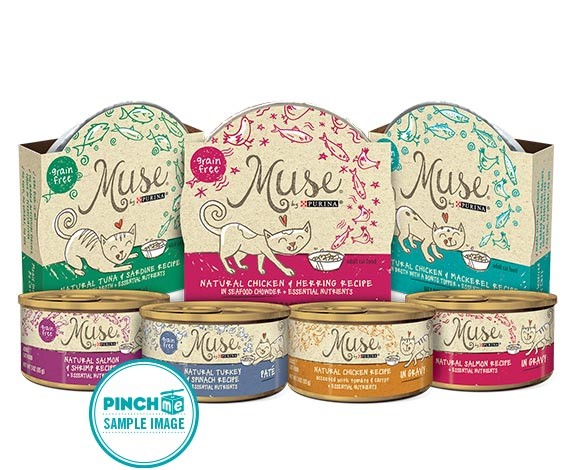 PURINA MUSE CAT FOOD SAMPLE