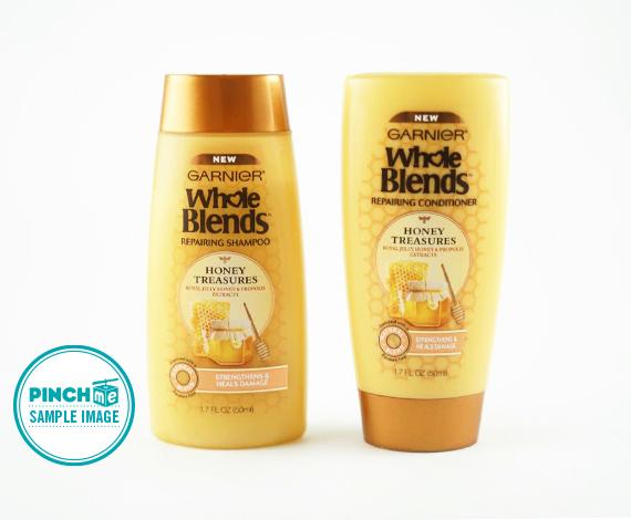 Garnier Whole Blends Repairing Shampoo and Conditioner Honey Treasures