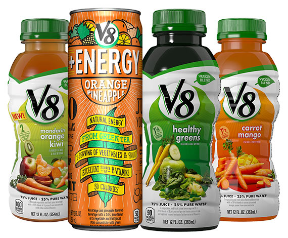 V8® Veggie Blends