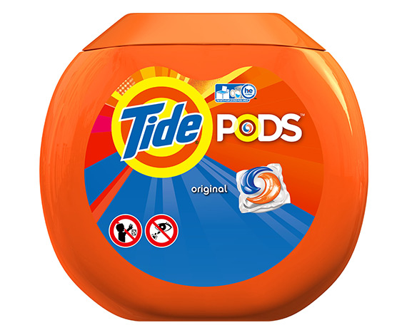 tide pods laundry detergent pac original scent free samples