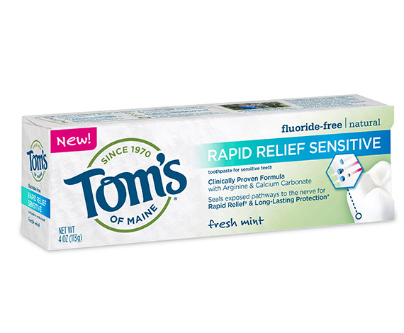 Rapid Relief Sensitive Toothpaste - Free Samples, Reviews