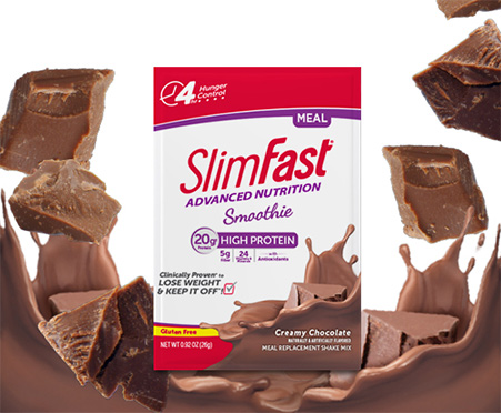SlimFast® Advanced Nutrition Smoothie Creamy Chocolate