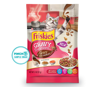 Friskies Gravy Swirlers Dry Cat Food