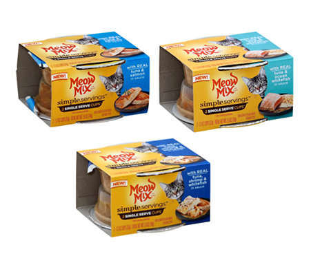 Meow Mix® Simple Servings™ Wet Cat Food