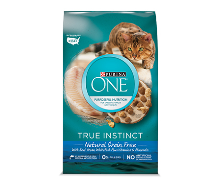 Purina ONE True Instinct Natural Grain Free Ocean Whitefish