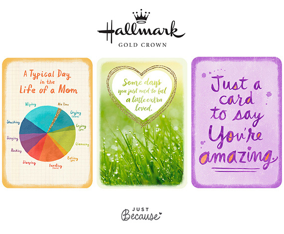 Introducing Hallmark Just Because Greeting Cards