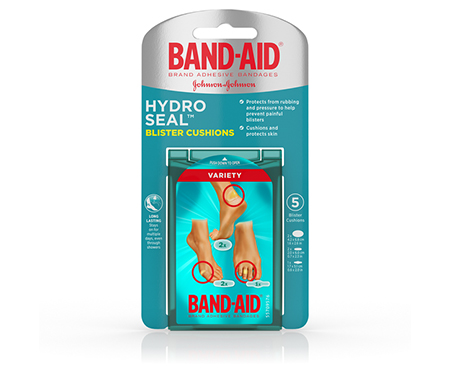 BAND-AID® Brand Hydro Seal Blister Cushions Variety Pack, 5ct