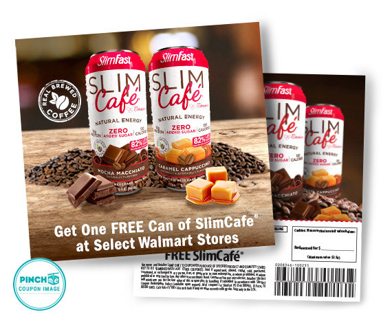 SlimFast SlimCafé Coffee & Protein Beverage 100% Free Gratuity Coupon
