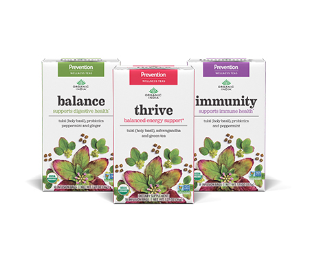ORGANIC INDIA Prevention Herbal Wellness Infusions