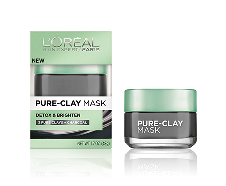 Pure-Clay Detox & Brighten Charcoal Mask