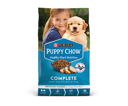 Puppy Chow Complete with Real Chicken and Rice