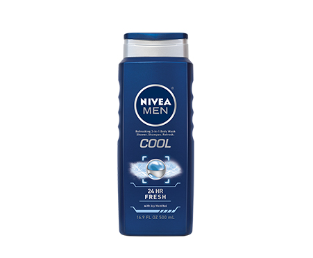 NIVEA MEN Cool 3-in-1 Body Wash