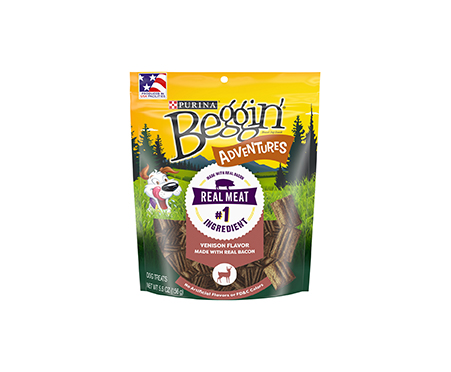 Purina® Beggin' Adventures Venison Flavor