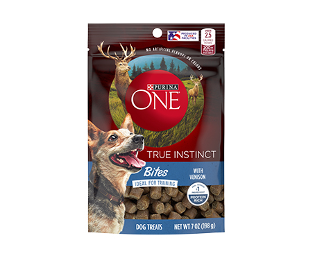 Purina® ONE True Instinct Bites with Venison