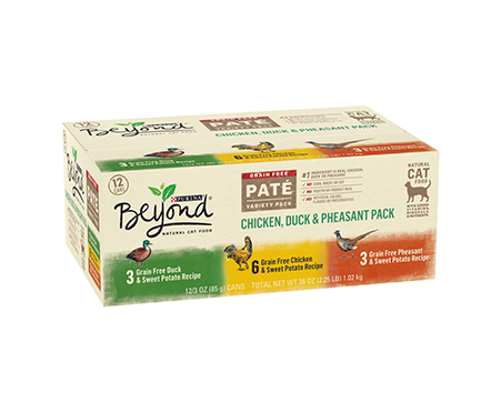 Purina Beyond Grain Free Paté Cat Food Variety Pack
