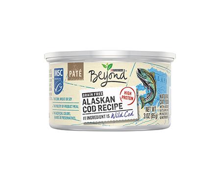Purina Beyond Grain Free Paté Alaskan Cod Recipe Adult Wet Cat Food