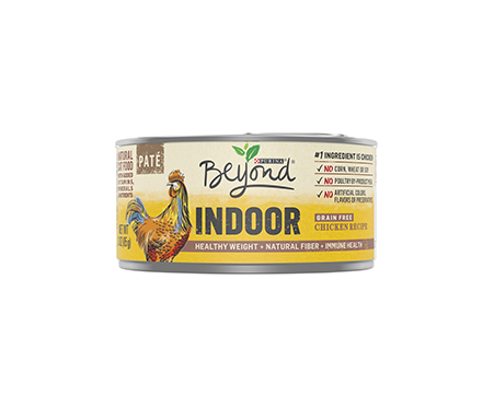 Purina Beyond Indoor Grain Free Chicken Recipe Natural Cat Food