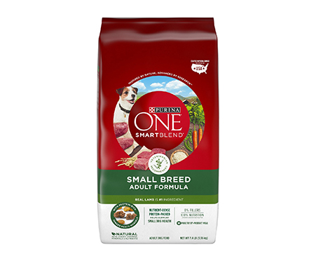 Purina ONE SmartBlend Small Breed Lamb & Rice Formula Dog Food