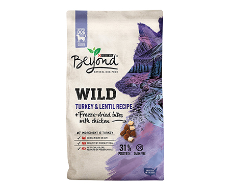 Purina Beyond Wild Turkey & Lentil Recipe + Freeze-Dried Bites with Chicken Dry Dog Food