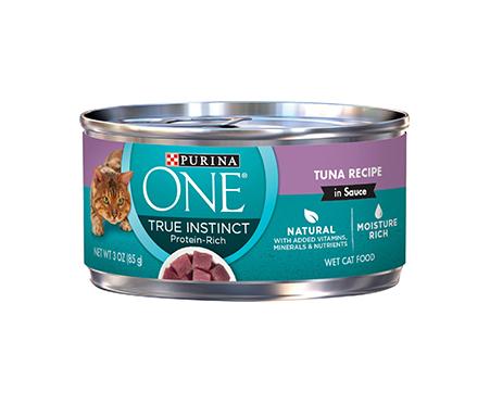 Purina ONE True Instinct Tuna Recipe in Sauce Canned Cat Food