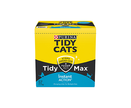 Purina Tidy Cats Tidy Max Instant Action Clumping Cat Litter