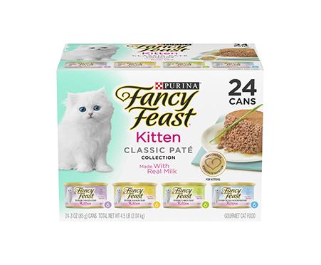 Purina Fancy Feast Tender Feast Wet Kitten Food Variety Pack