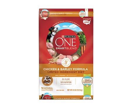 Purina ONE SmartBlend Chicken & Barley Limited Ingredient Adult Dry Dog Food