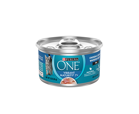Purina ONE Vibrant Maturity 7+ Senior Chicken & Ocean Whitefish Recipe Wet Cat Food