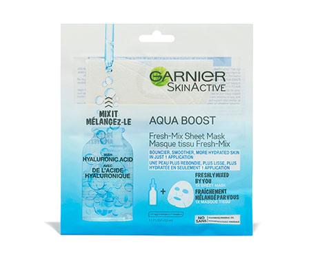 Garnier SkinActive Aqua Boost Fresh-Mix Sheet Mask