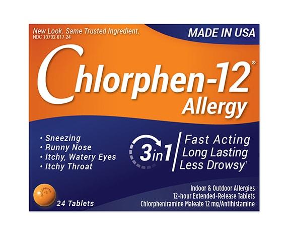 Chlorphen-12 Allergy