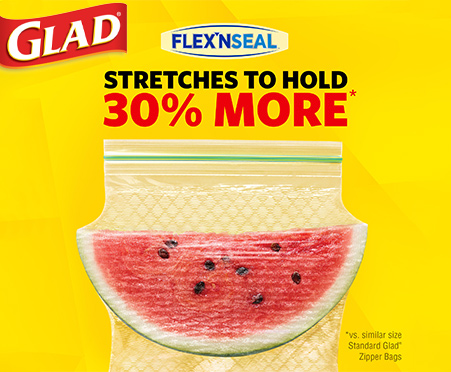 Glad Flex'NSeal
