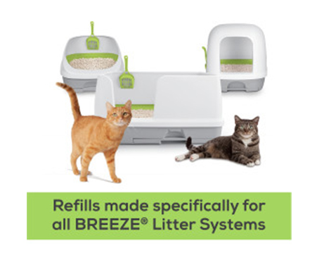 Purina® Tidy Cats® Breeze Enhanced Pellets Pack