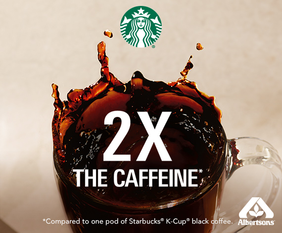 Starbucks® PLUS Coffee K-Cup® Pods