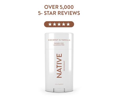 Native Aluminum Free Deodorant