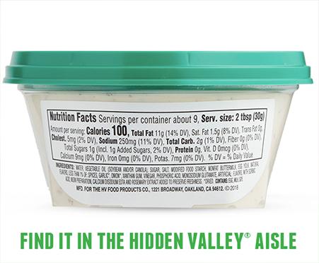 Hidden Valley Ranch Dip - Classic Ranch