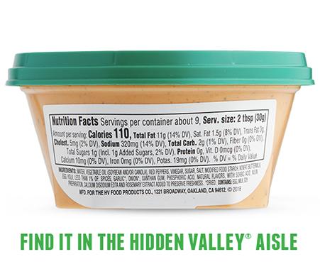 Hidden Valley Ranch Dip - Buffalo Ranch