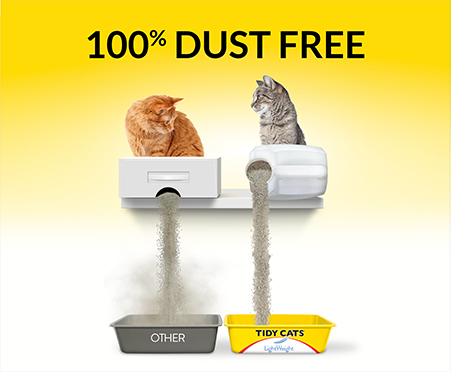 Tidy Cats Free & Clean Unscented Lightweight Litter